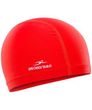25DEGREES Шапочка для плавания Essence, полиамид 25D15-ES-22-32: красный - 14