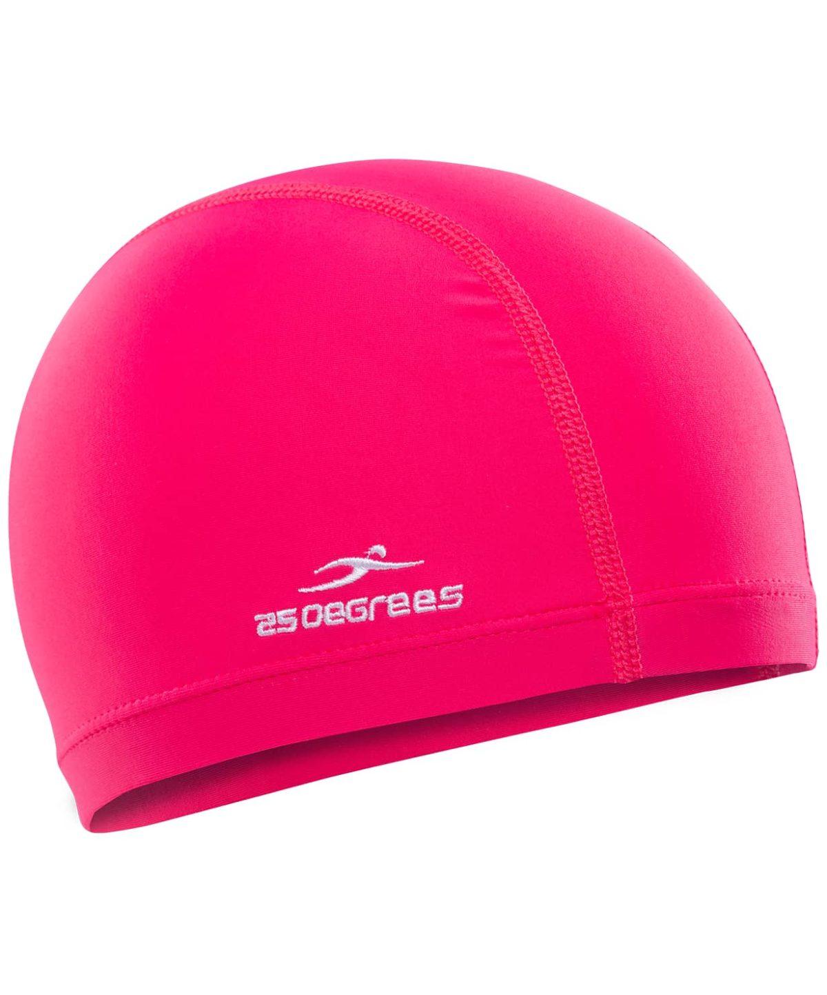25DEGREES Шапочка для плавания Essence, полиамид 25D15-ES-22-32: розовый - 1