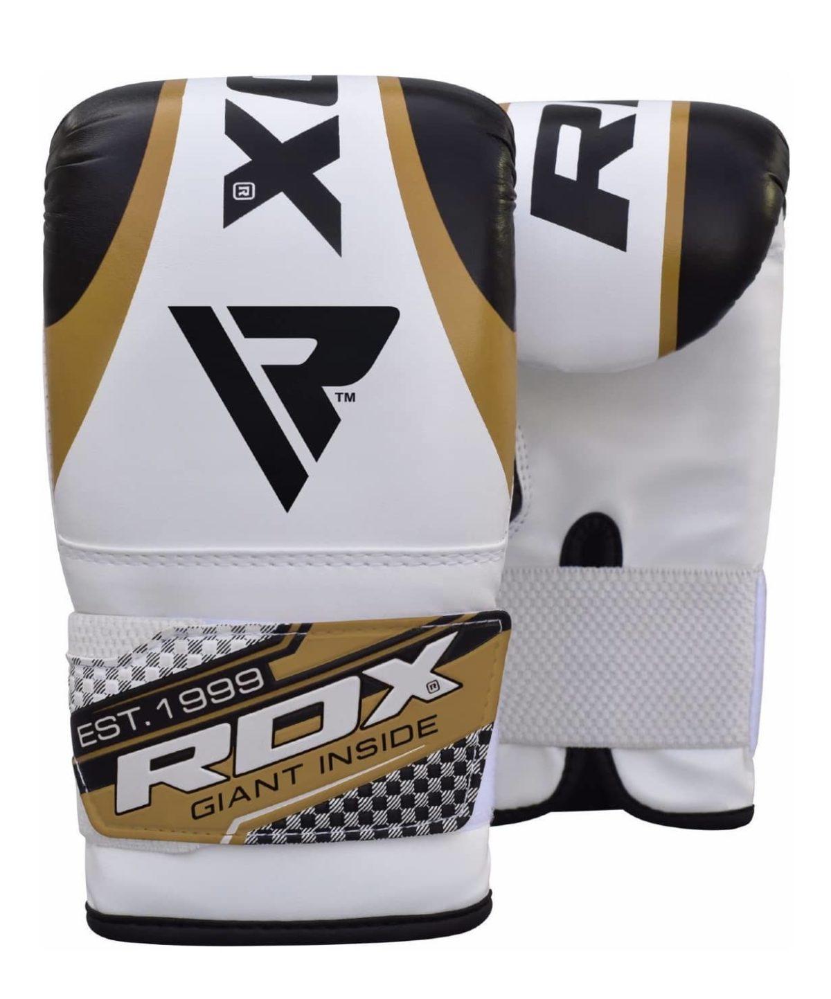 RDX Перчатки снарядные BMR-1: белый/золотой - 1