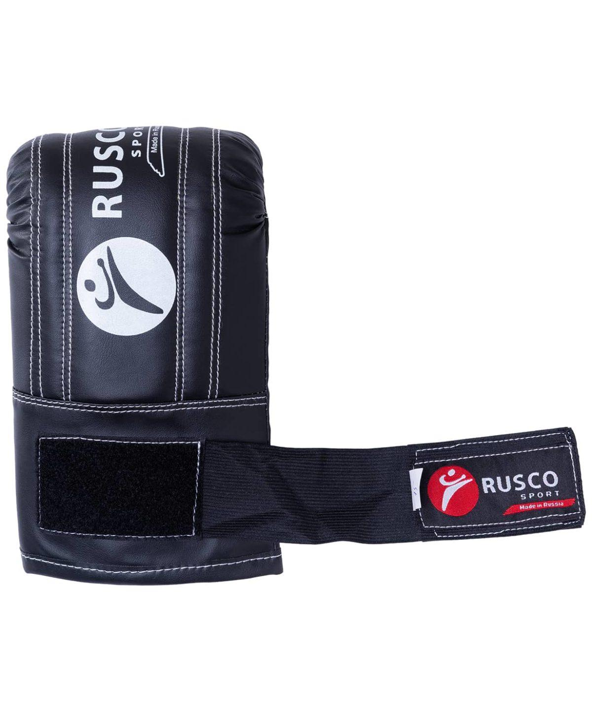 RUSCO Перчатки снарядные, кожзам 142: чёрный - 3