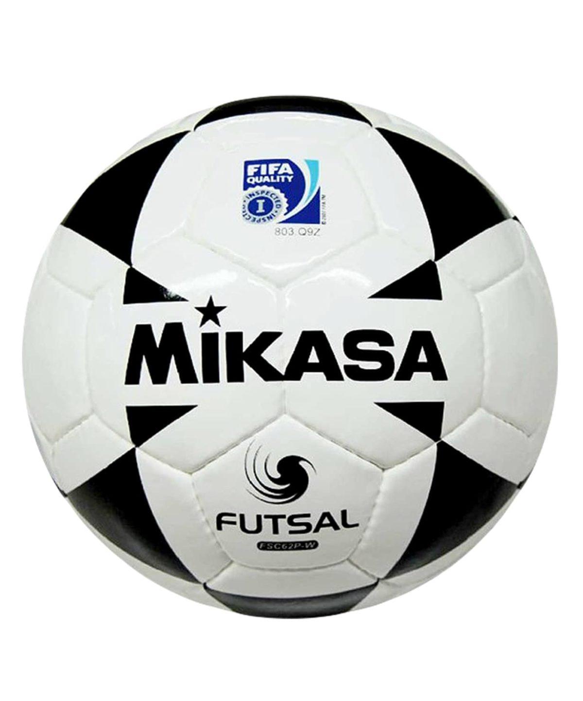 MIKASA Мяч футзальный FIFA FSC-62 P-W №4 - 1