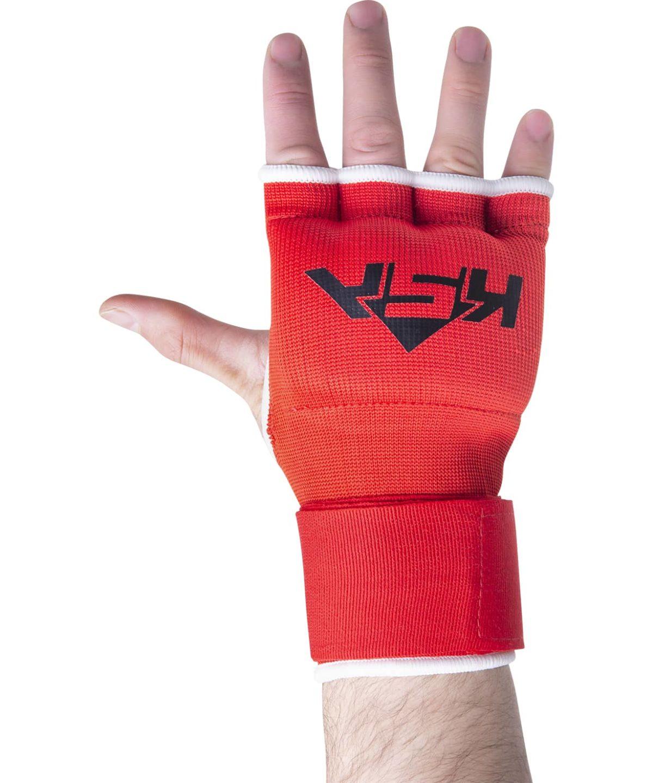 KSA Cobra Red Перчатки внутренние для бокса 17898: красный - 1