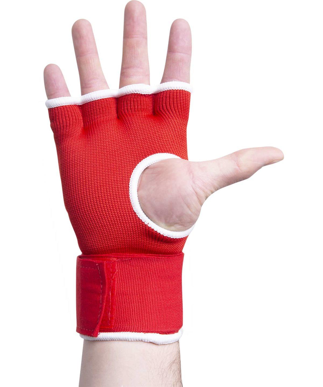KSA Cobra Red Перчатки внутренние для бокса 17898: красный - 2