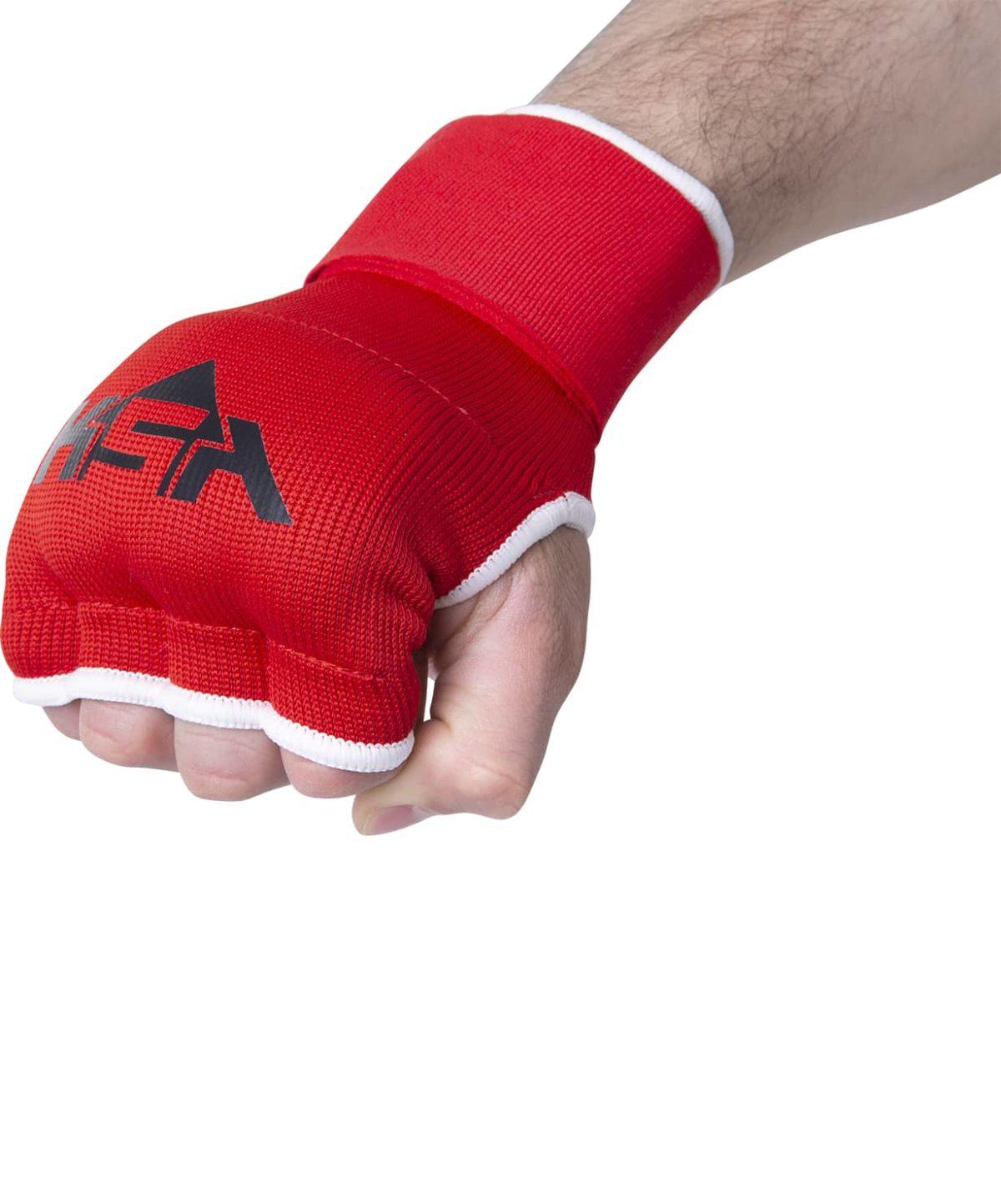 KSA Cobra Red Перчатки внутренние для бокса 17898: красный - 3