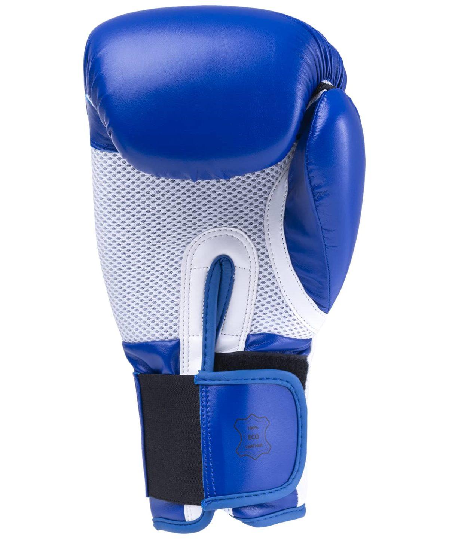 KSA Scorpio Blue Перчатки боксерские, 10 oz, к/з 17818: синий - 2