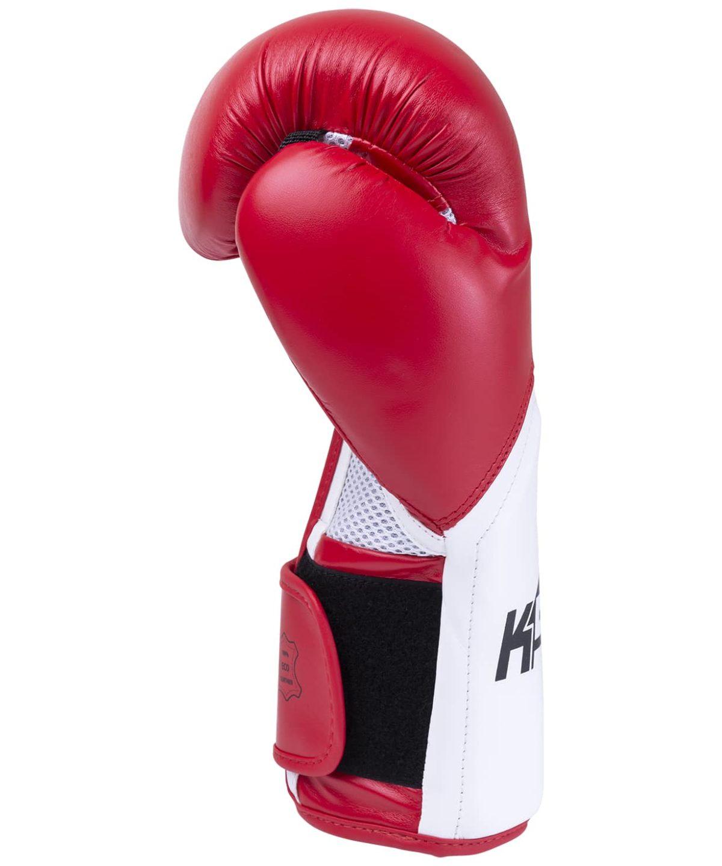 KSA Scorpio Red Перчатки боксерские, 8 oz, к/з 17823: красный - 4