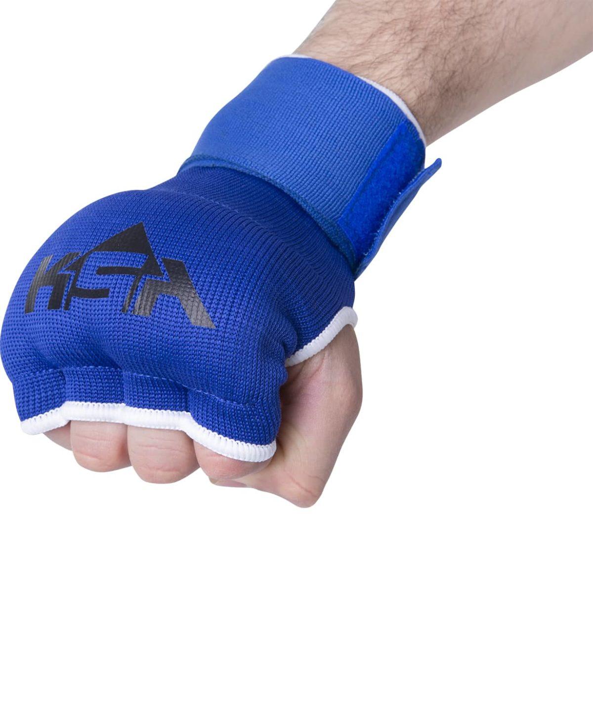 KSA Cobra Blue Перчатки внутренние для бокса 17902: синий - 3