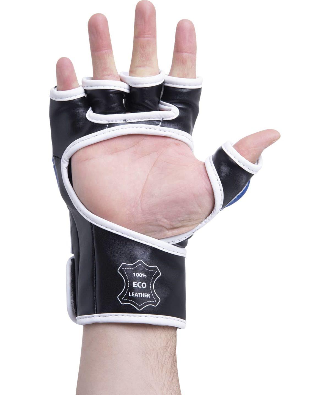 KSA Перчатки для ММА Wasp Blue, к/з 7850 - 3