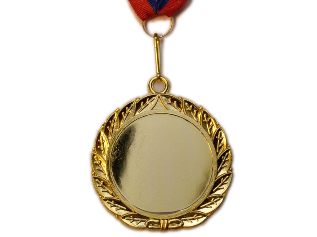 SPRINTER Медаль с лентой  диаметр 6,5 см,  E02: золото - 2