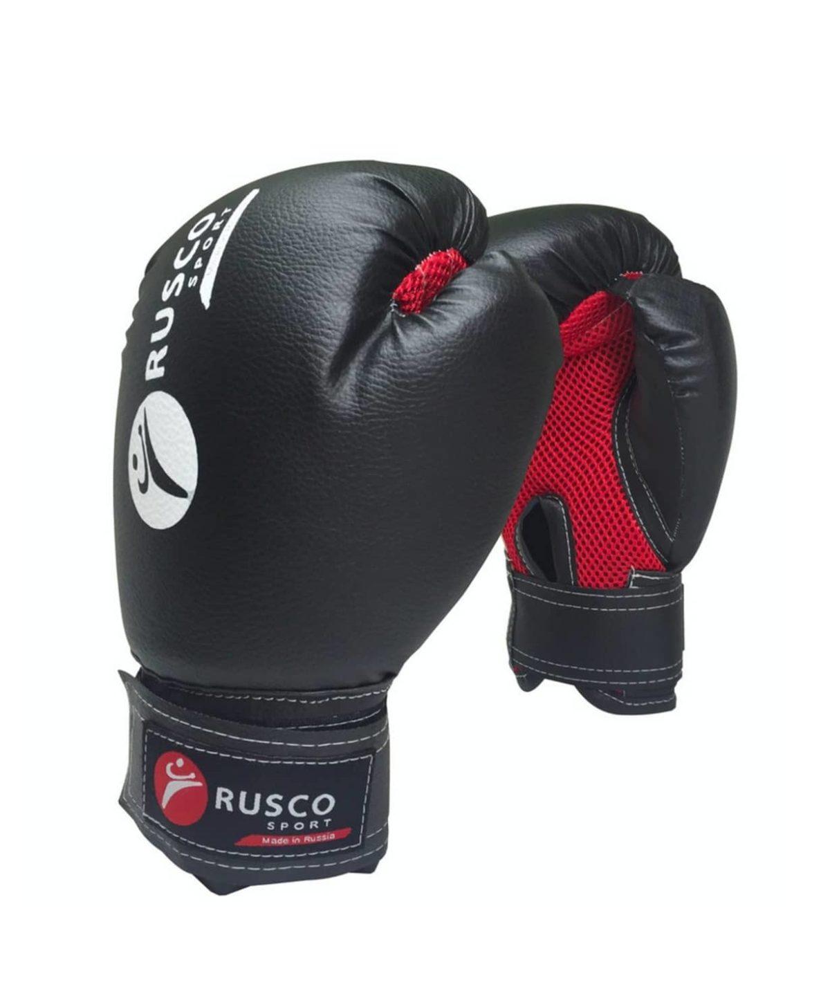 RUSCO Перчатки бокс. 6oz, к/з  18528 - 1