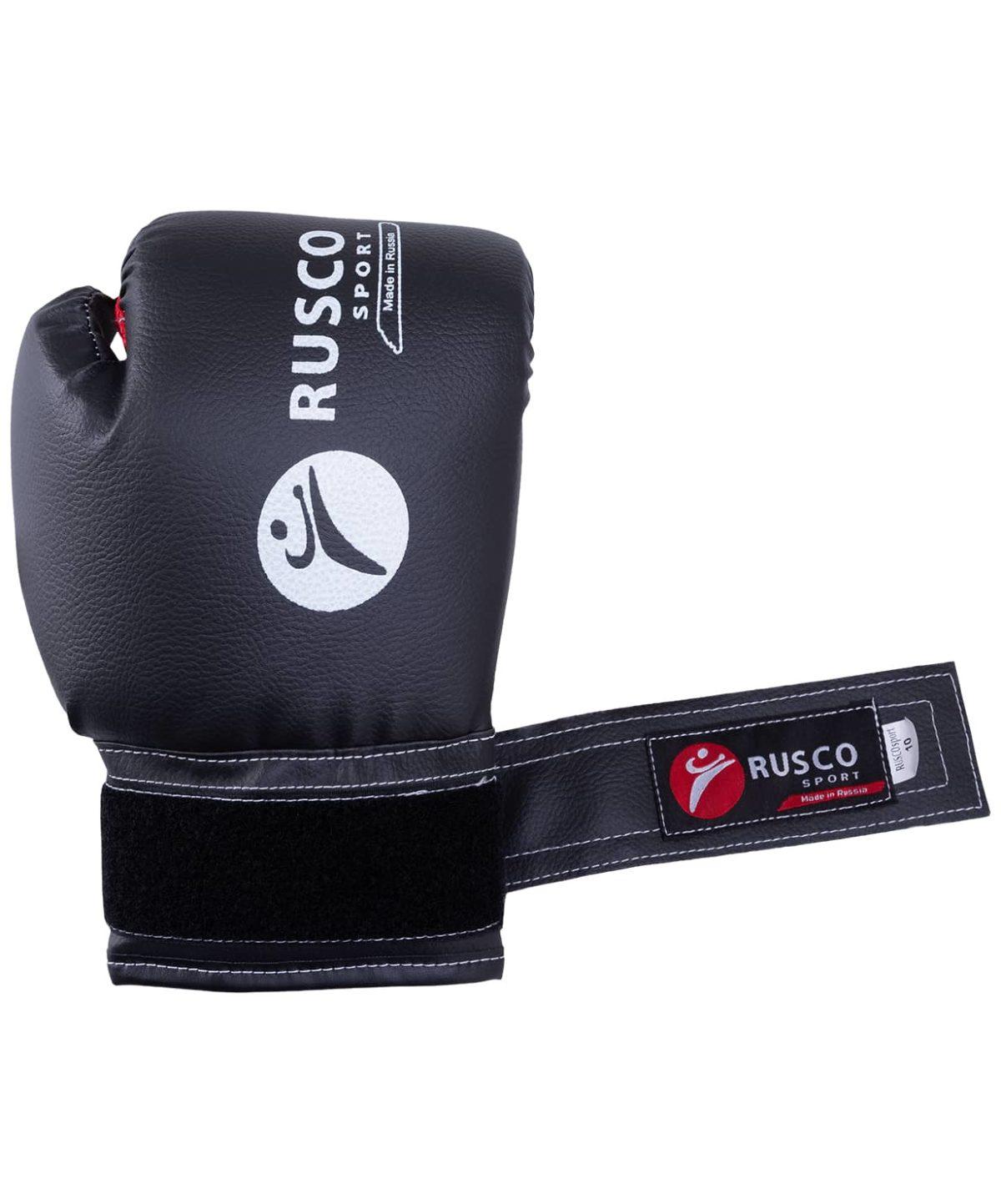 RUSCO Перчатки бокс. 10oz, к/з  18530 - 2