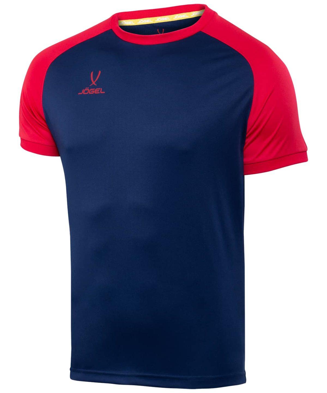 JOGEL CAMP Reglan футболка футбольная  т.синий/красный  JFT-1021-092 - 1