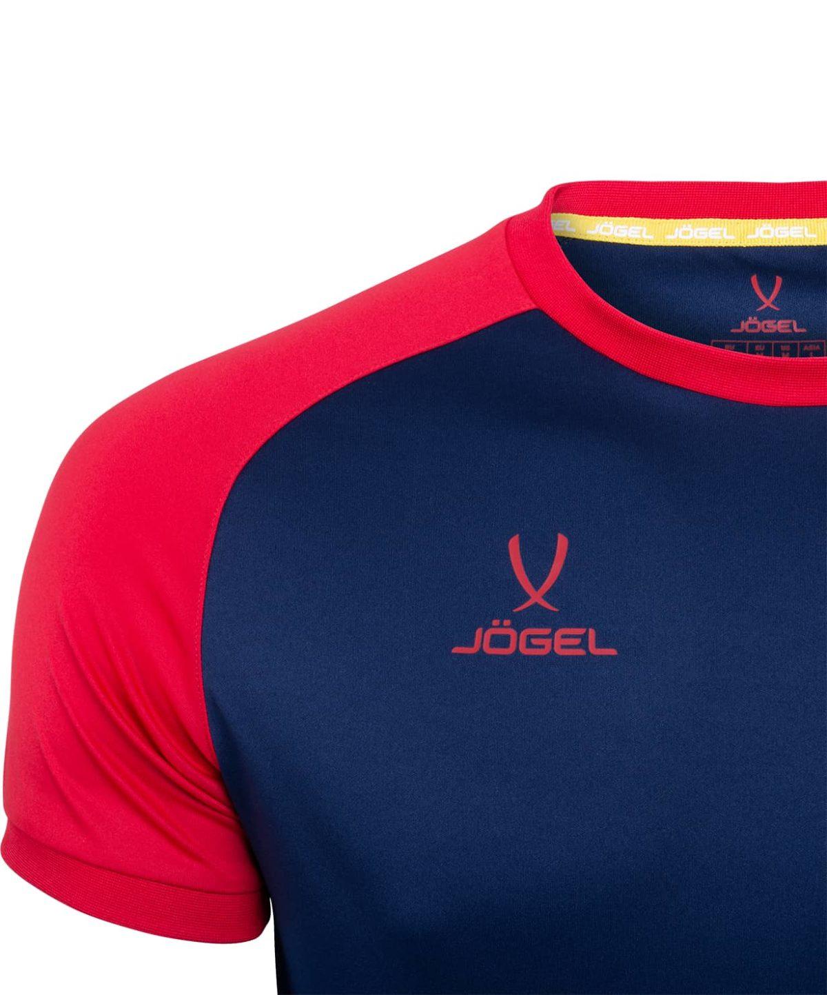 JOGEL CAMP Reglan футболка футбольная  т.синий/красный  JFT-1021-092 - 3