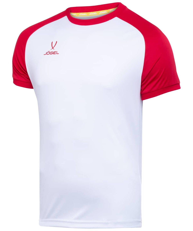 JOGEL CAMP Reglan футболка футбольная детская, белый/красный  JFT-1021-071-K - 1