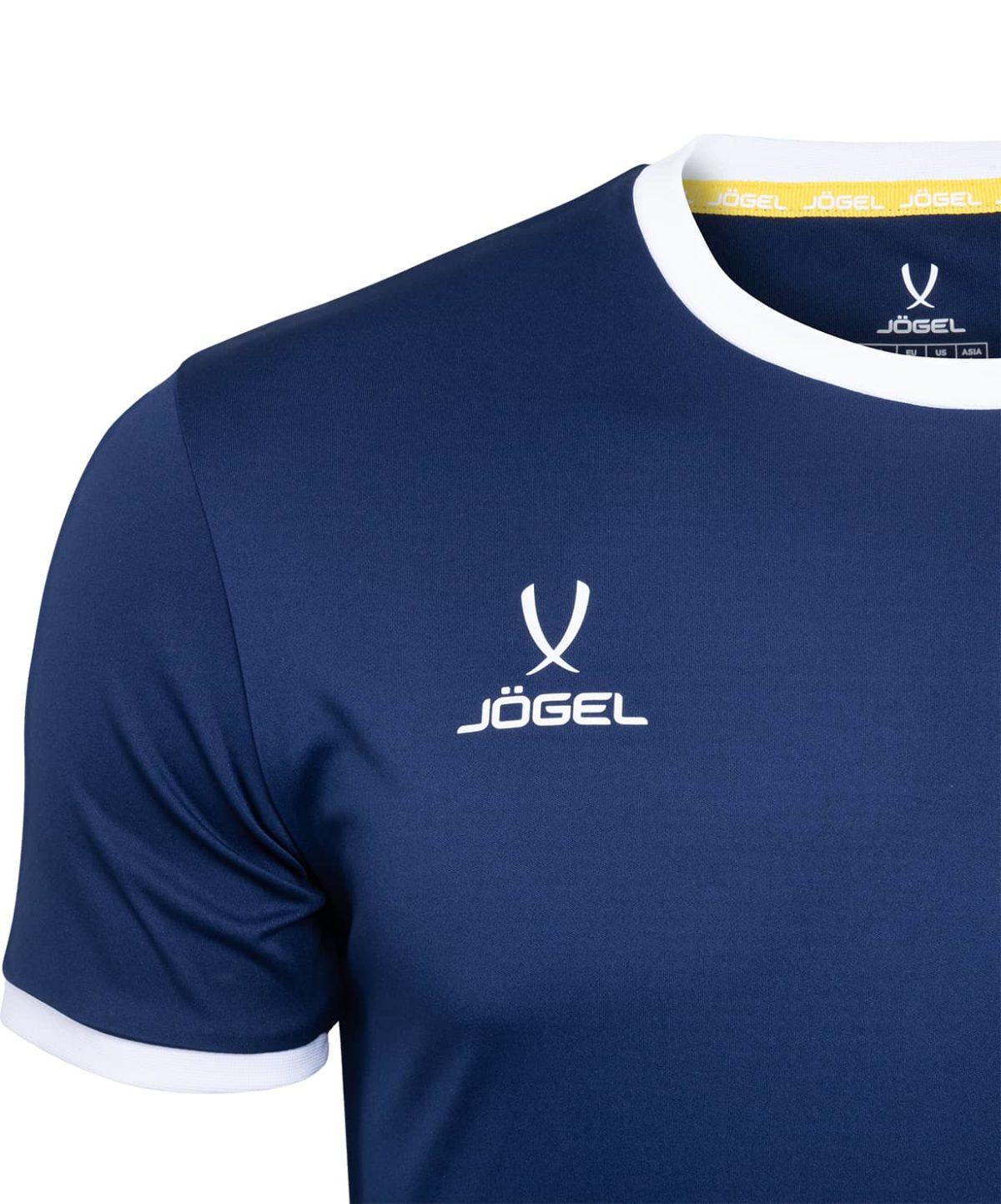 JOGEL CAMP Origin футболка футбольная детская, т.синий/белый  JFT-1020-091-K - 3