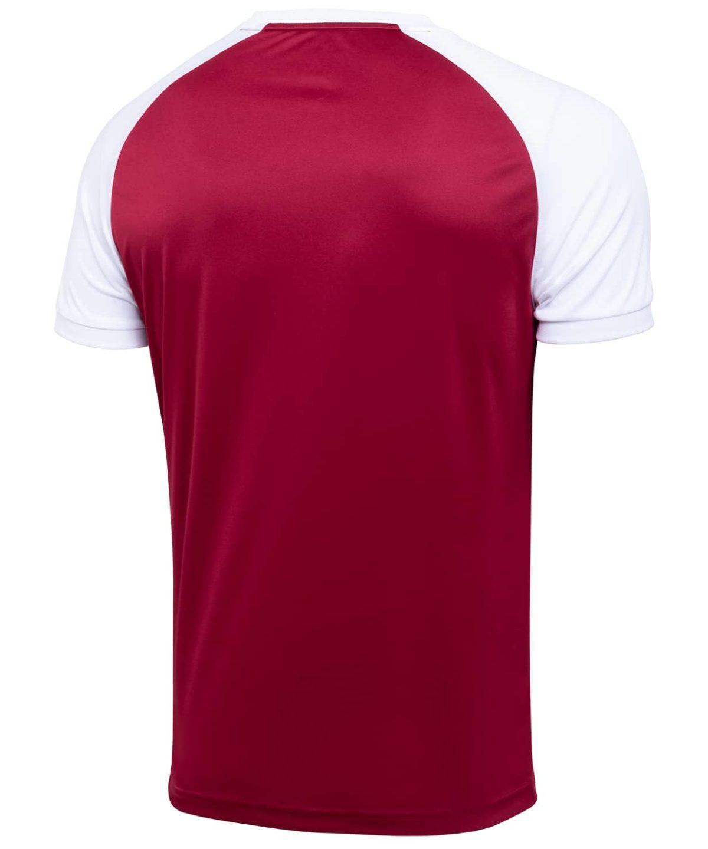 JOGEL CAMP Reglan футболка футбольная гранатовый/белый  JFT-1021-G1 - 2