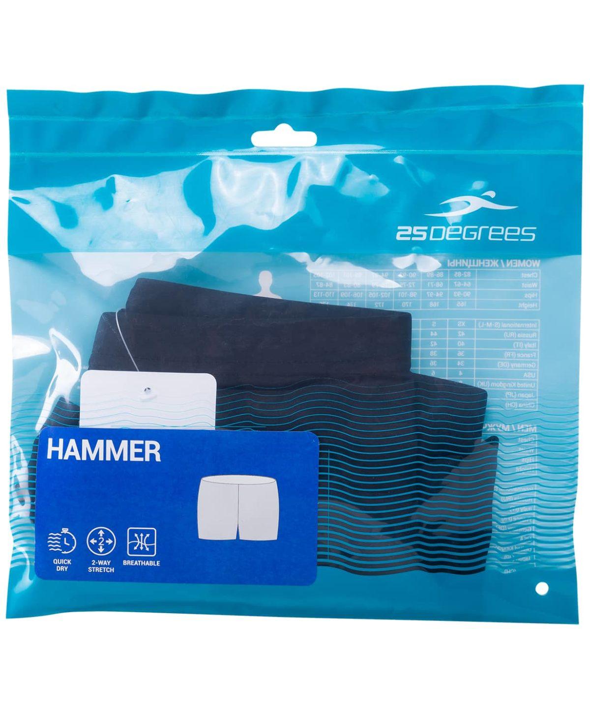25DEGREES Hammer Black Шорты для плавания, полиамид  17560 - 4