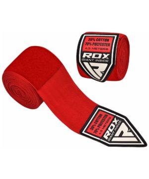 RDX бинт бокс., эластик 4,5м  HWX-R: красный - 20