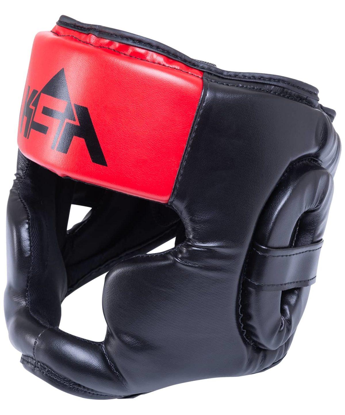 KSA Skull Red шлем закрытый  17907 - 1