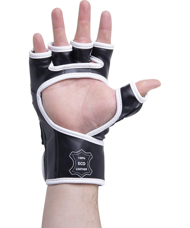 KSA Перчатки для ММА Lion Gel Black,  к/з 7881 - 4
