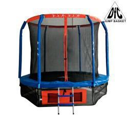 DFC Батут JUMP BASKET с внутр.сеткой, лестница (366 см) (два короба)  12FT-JBSK-B - 1