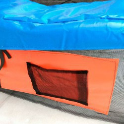 DFC Батут JUMP BASKET с внутр.сеткой, лестница (366 см) (два короба)  12FT-JBSK-B - 6