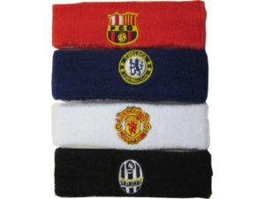 Повязка на голову с логотипами клубов  02086 - 2
