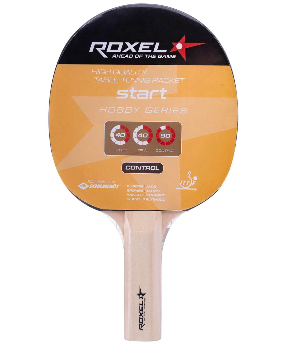 ROXEL Ракетка Hobby Start д/наст. тен. прямая 15353 - 1