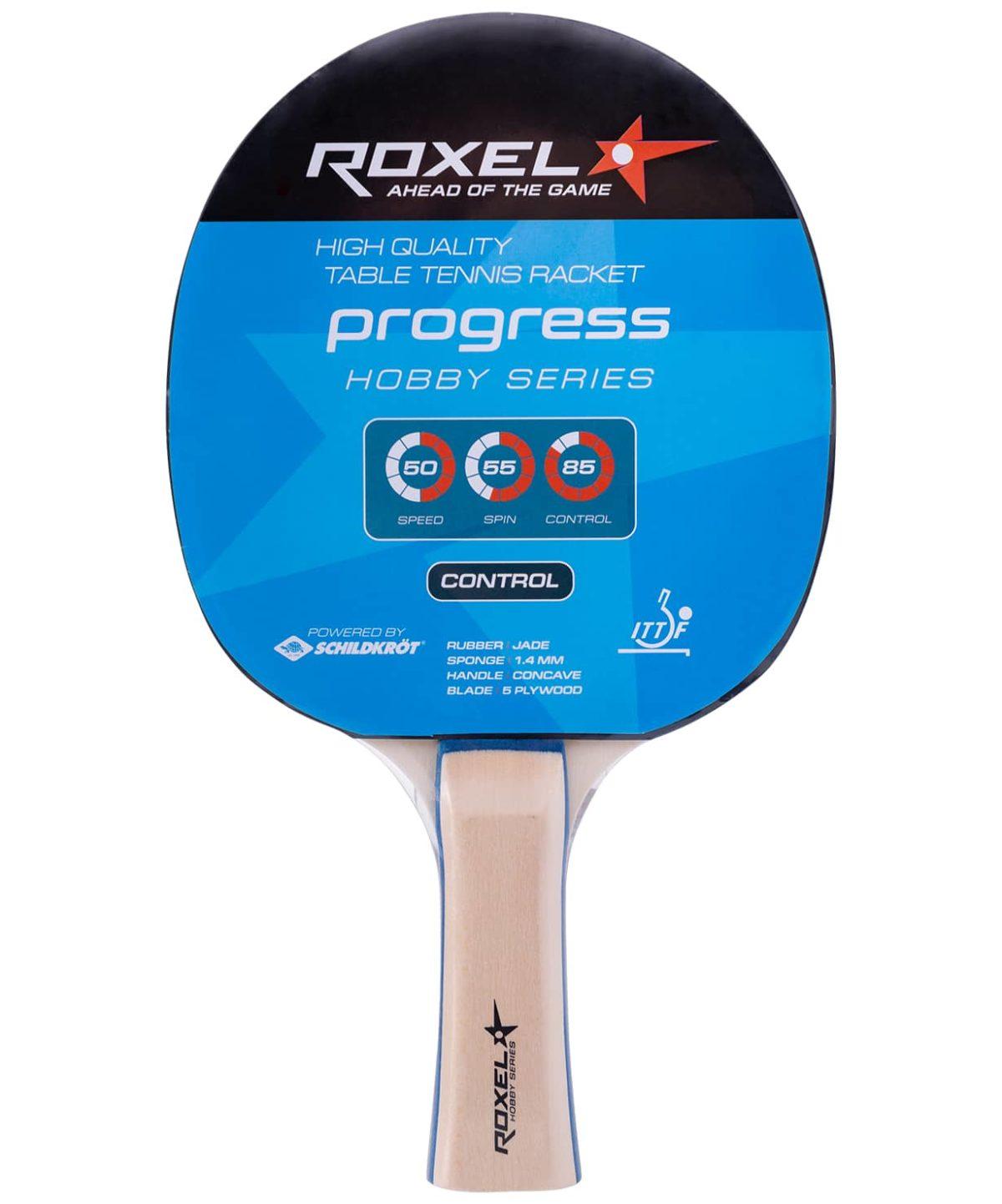 ROXEL Hobby Progress набор д/наст. тен. 2 ракетки, 3 мяча и сетка  15367 - 2
