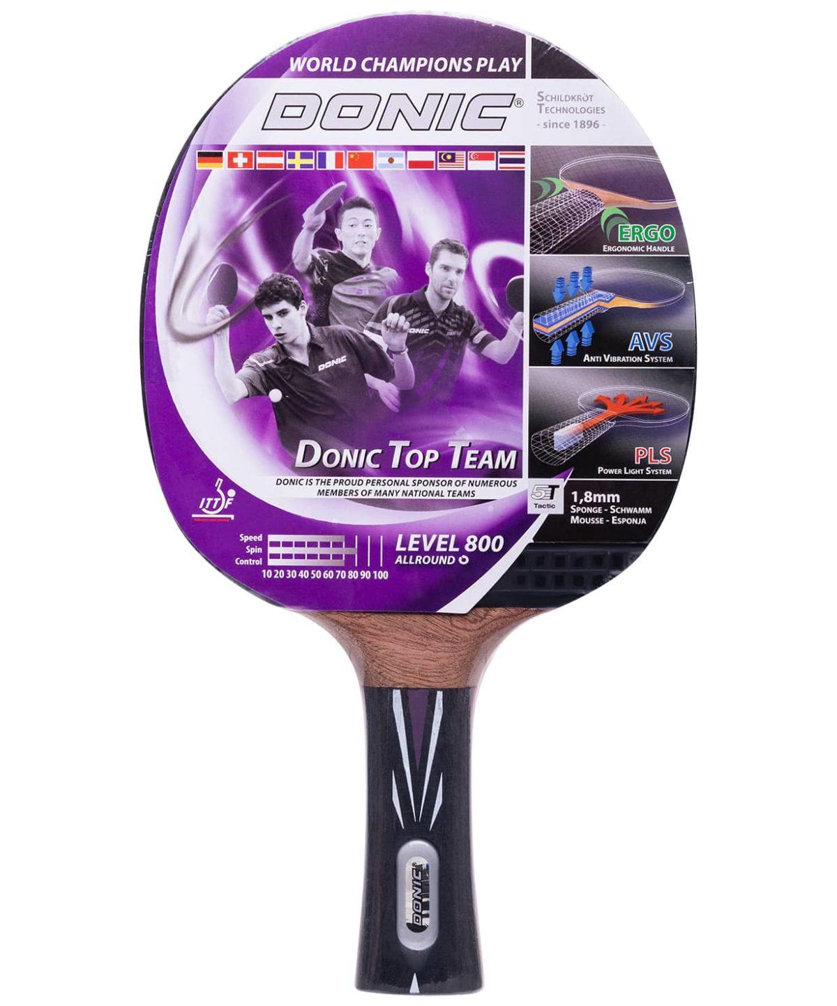 DONIC Top Team 800 ракетка д/наст. тенниса  15336 - 1