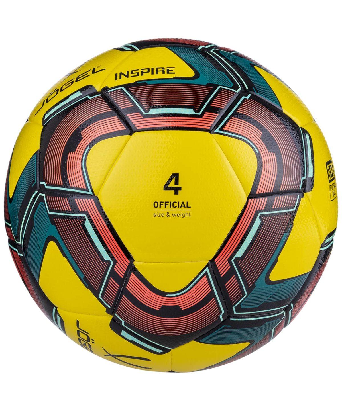JOGEL Мяч футзальный Inspire  Inspire №4 (ВС20): жёлтый - 6