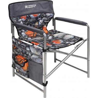 NIKA Кресло складное  КС2: камни и кленовые листья - 1