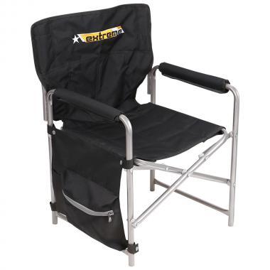 NIKA Кресло складное  КС2: чёрный - 1