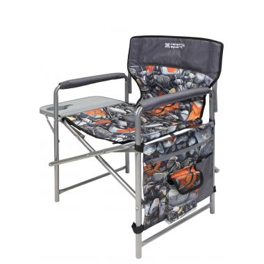 NIKA Кресло складное с полкой  КСП: камни и кленовые листья - 1