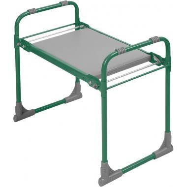 NIKA Скамейка садовая с мягким сиденьем  СКМ: зелёный - 1