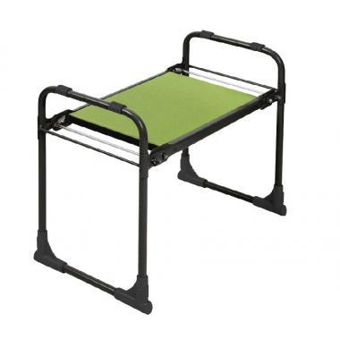 NIKA Скамейка садовая с мягким сиденьем  СКМ: чёрный - 1