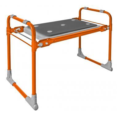 NIKA Скамейка садовая с мягким сиденьем  СКМ2: оранжевый - 1
