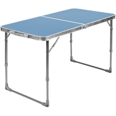 NIKA Стол складной  ССТ-3: голубой - 1