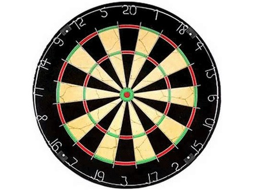 SPRINTER Дартс Champion, 6 дротиков, диаметр 45 см  09076 (BL1818B) - 1