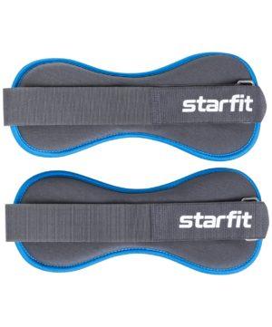STARFIT Утяжелители универсальные, 1,5 кг WT-501: чёрный/синий - 10