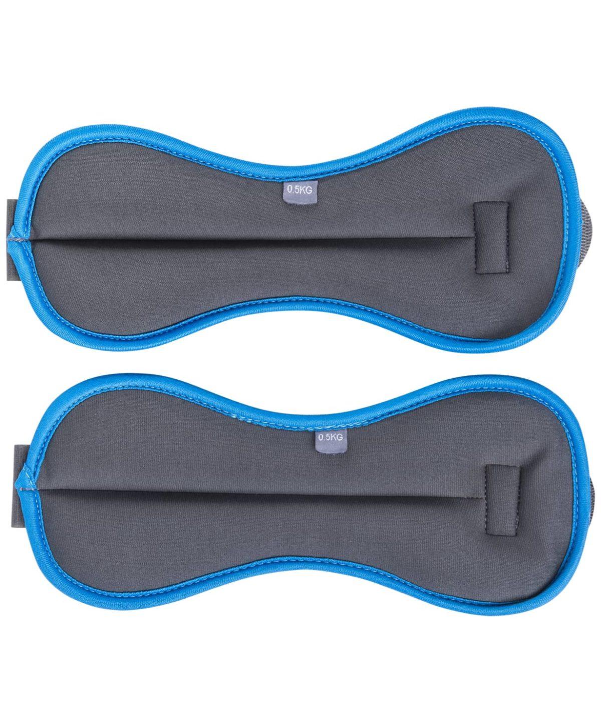 STARFIT Утяжелители универсальные, 1,5 кг WT-501: чёрный/синий - 2