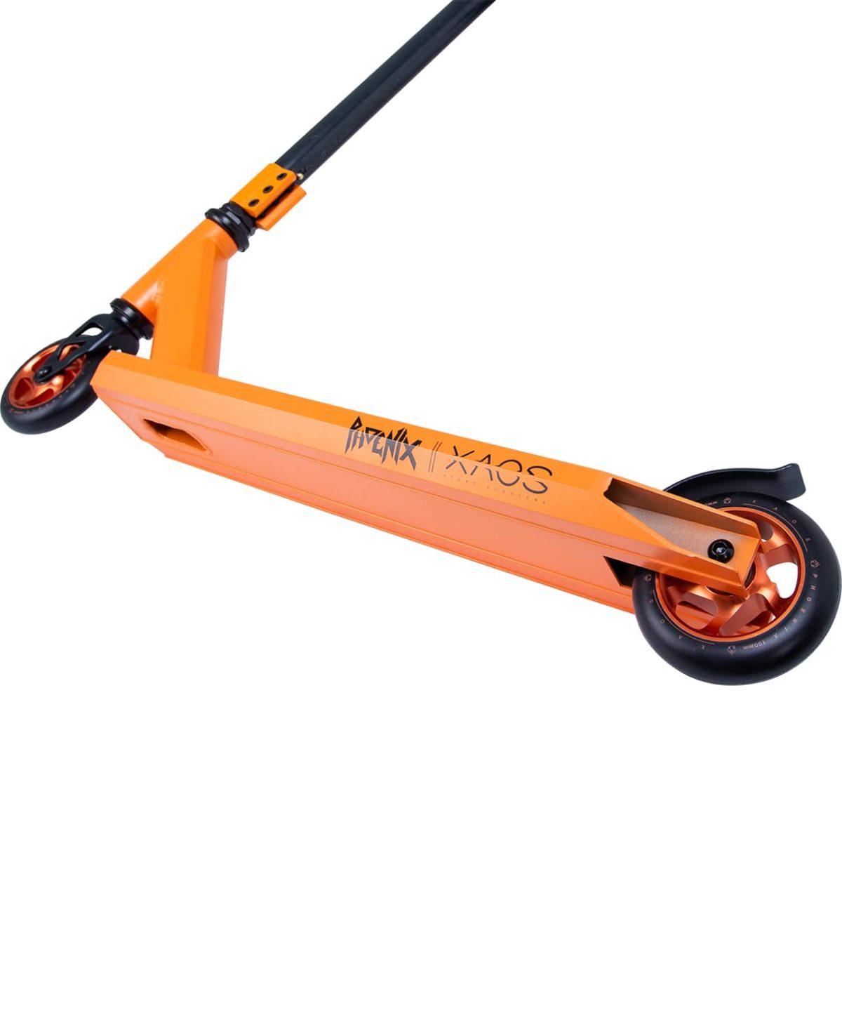 XAOS Phoenix Cамокат трюковый 100 мм  Phoenix: Orange - 2