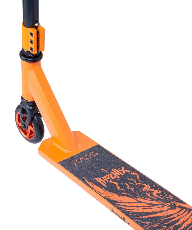 XAOS Phoenix Cамокат трюковый 100 мм  Phoenix: Orange - 3