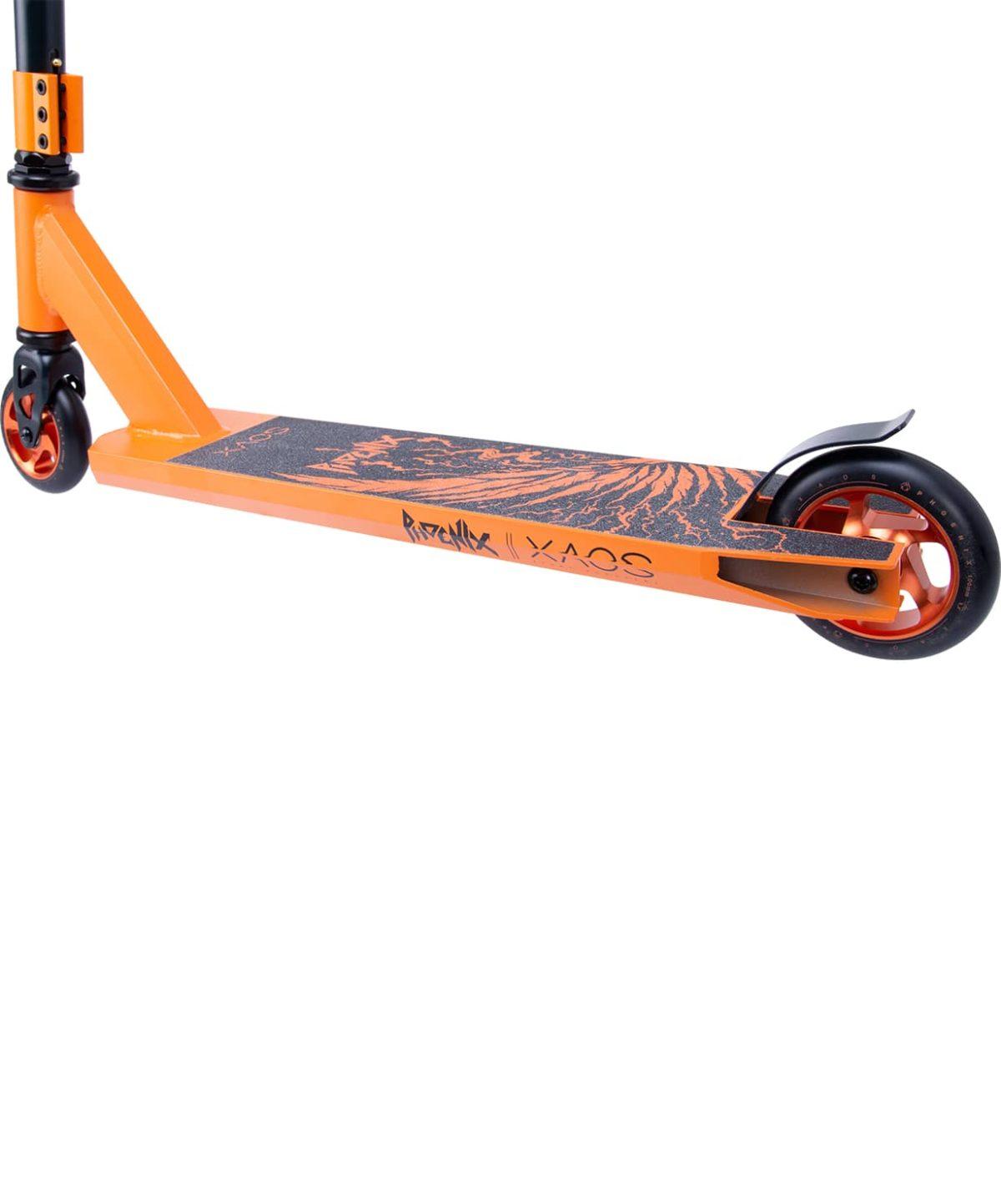 XAOS Phoenix Cамокат трюковый 100 мм  Phoenix: Orange - 6