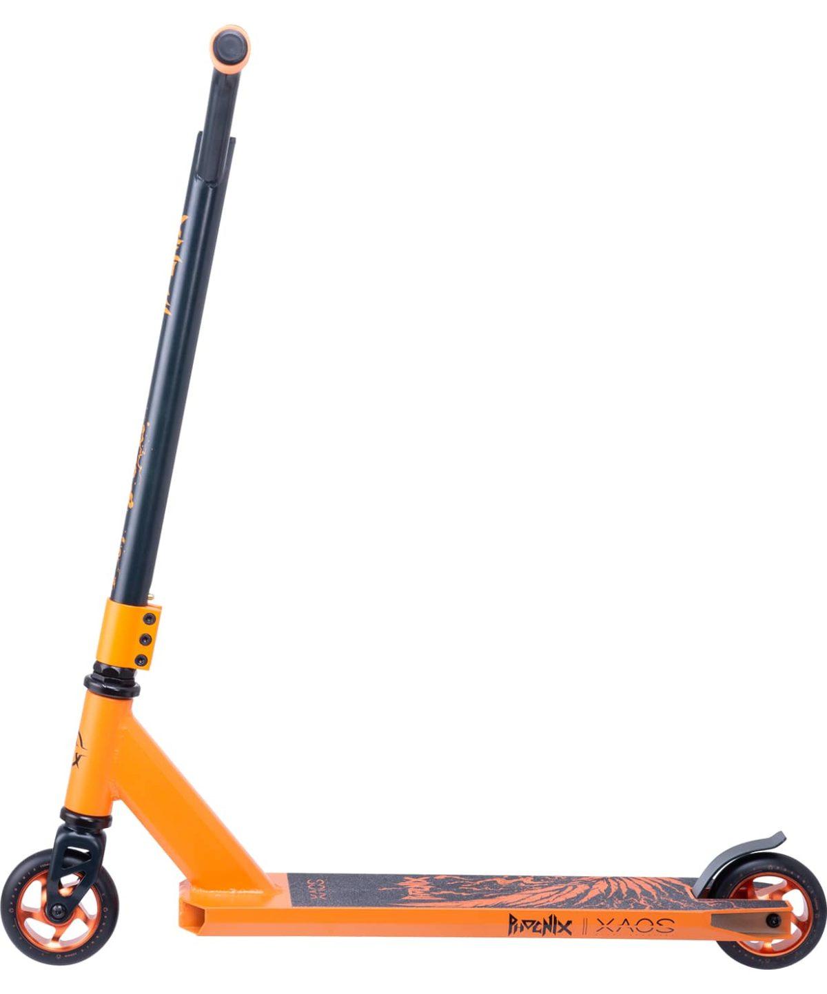 XAOS Phoenix Cамокат трюковый 100 мм  Phoenix: Orange - 8