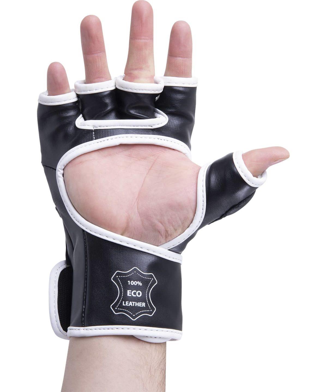 KSA Перчатки для ММА Wasp Black, к/з  7845 - 4