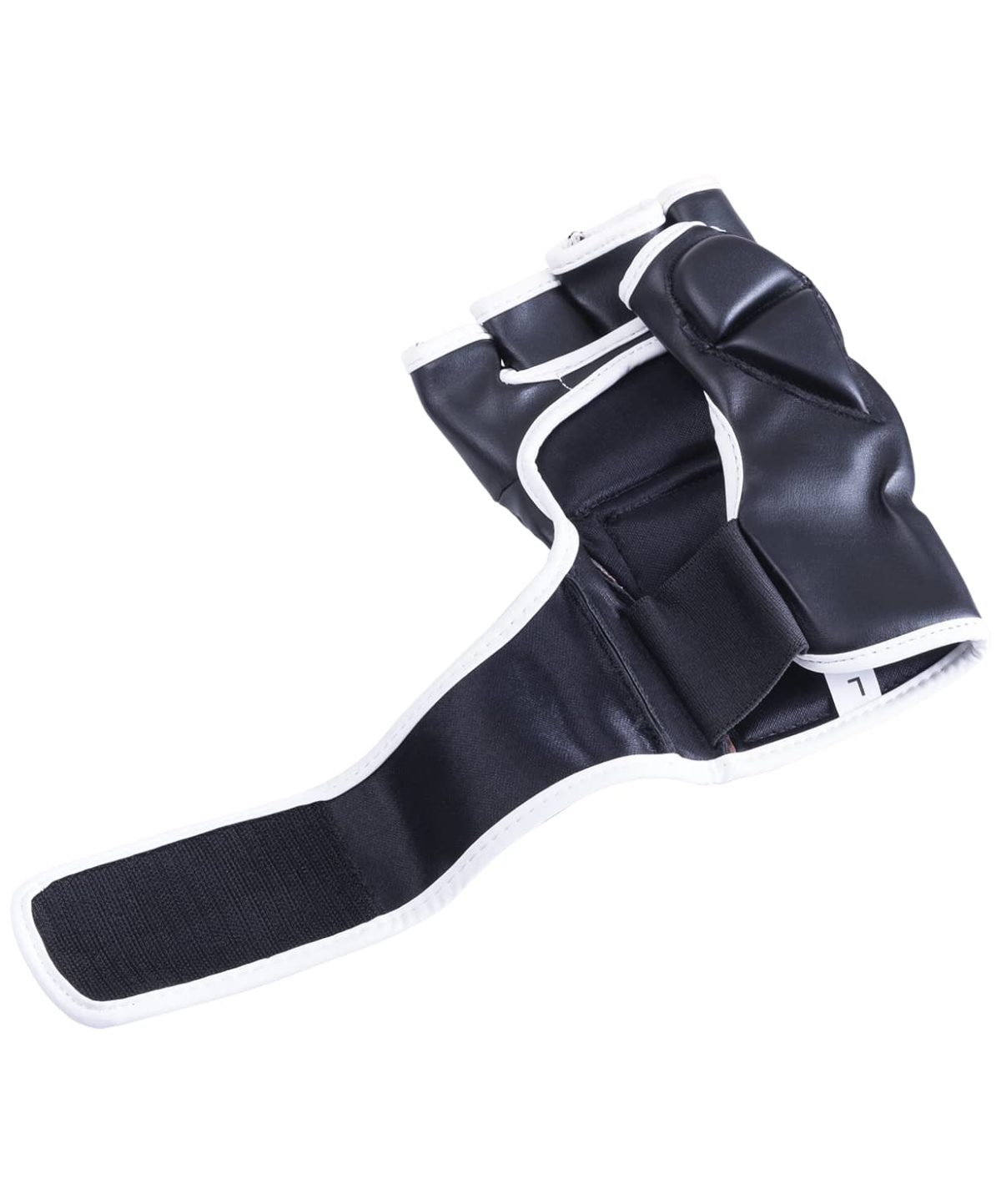 KSA Перчатки для ММА Wasp Black, к/з  7846 - 4