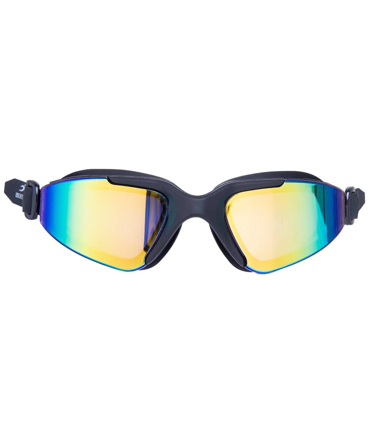 25DEGREES Prisma Mirrored Black Очки для плавания подростковые  17341 - 2