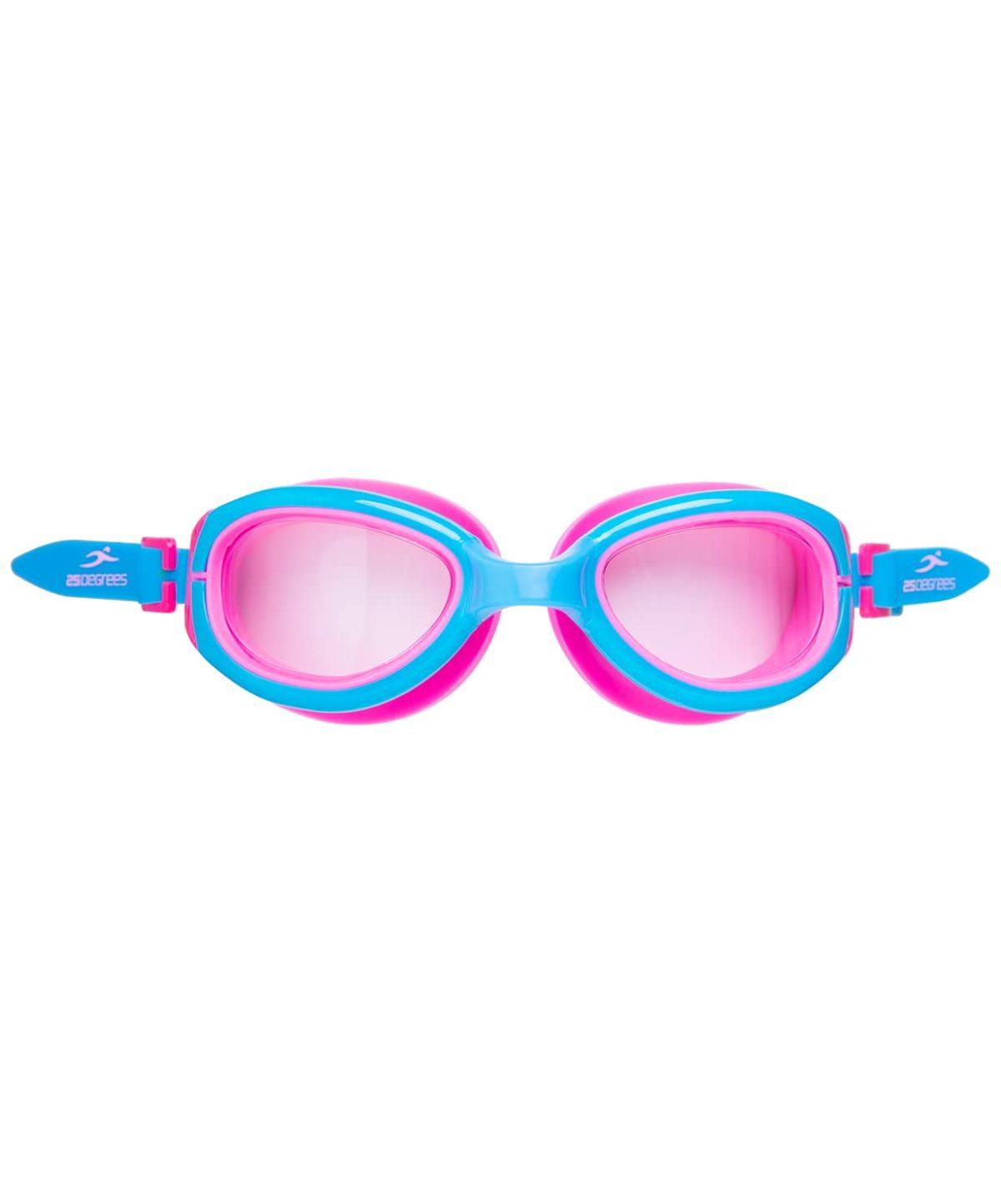 25DEGREES Friggo Light Blue/Pink Очки для плавания подростковые  17340 - 2