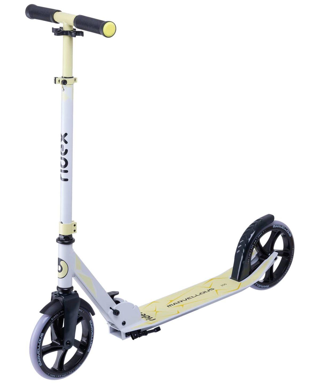 RIDEX Marvellous Самокат 2-х колес. 200 мм  Marvellous: белый/жёлтый - 1